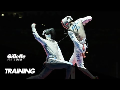 Foil Training with Team Italy | Gillette World Sport