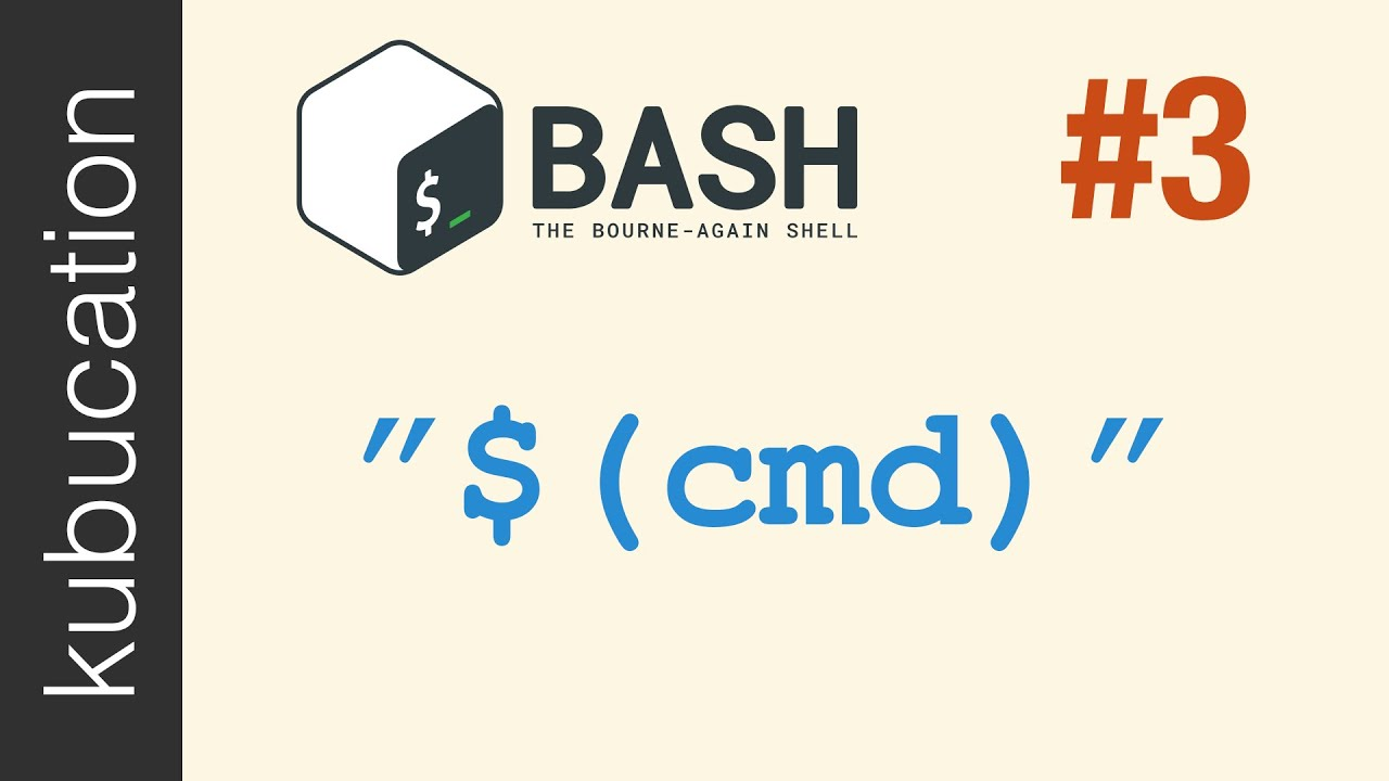 Command Substitution: Can you return data instead of exit codes in Bash? |  #3 Practical Bash