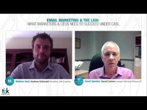 Email Marketing & The Law: What Marketers & CEOs Need to Succeed Under CASL