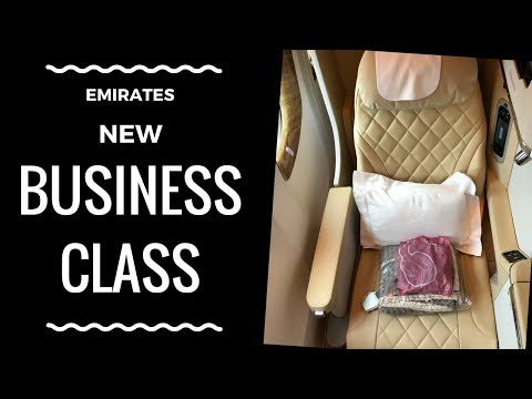 Emirates NEW BUSINESS CLASS Cabin