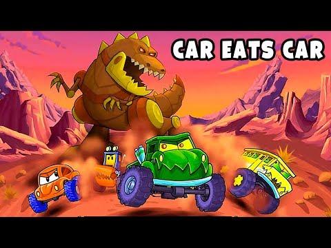 Машина Ест Машину 4 Новая Игра Про Хищные Тачки с Новым Режимом Игры Командная Гонка