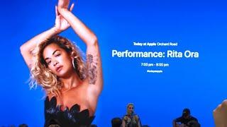 Today at Apple Singapore - Rita Ora - Anywhere Video