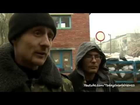 Ukraine crisis: Pro-Russian mob attack in Donetsk