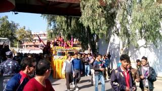 Nepal cricket team victory rally in Kathmandu