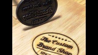 Using your Custom Branding Iron