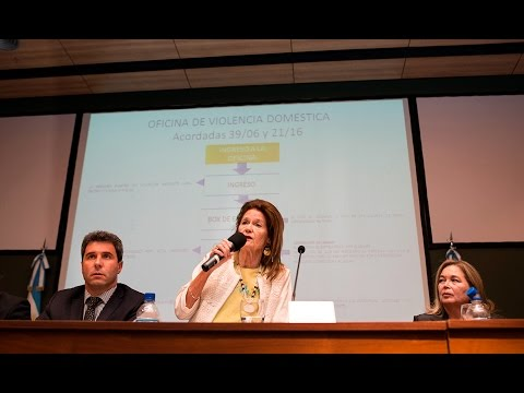 Elena Highton de Nolasco encabez� el acto de apertura del XXIII Encuentro Nacional de Mujeres Jueces de Argentina