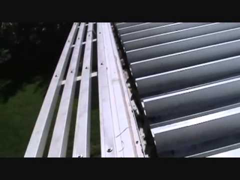 A Great Patio Awning Gutter Tip Youtube