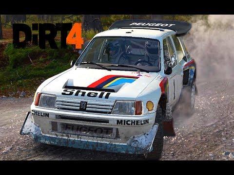 DiRT 4 Peugeot 205 T16 EVO 2 Wales EP#9