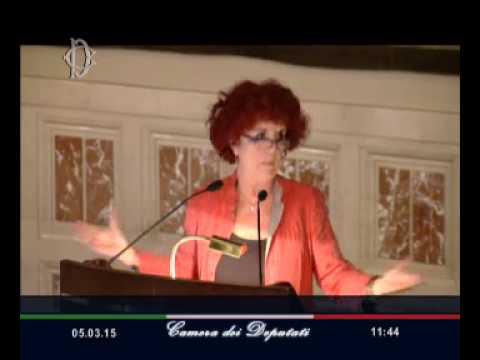 Roma - Non Siamo Così. Donne, parole e immagini - Valeria Fedeli (05.03.15)