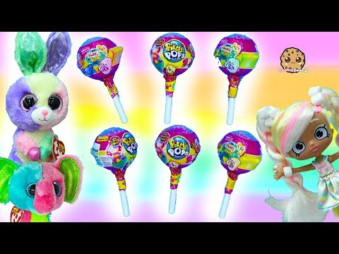 Big Pikmi Pops Candy Scented Plushies Surprise Blind Bags - Toy Video