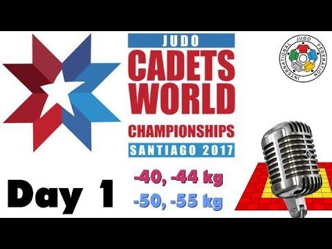 World Judo Championship Cadets 2017: Day 1
