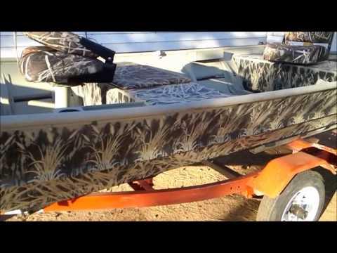 Duck Boat Remodel