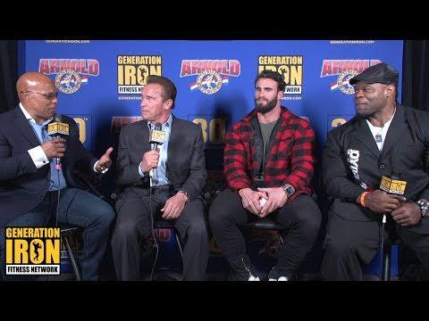 Shawn Ray & Kai Greene Interview Arnold Schwarzenegger & Calum Von Moger | Arnold Classic 2018