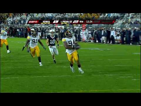 Adrian Clayborn Blocks the Penn State Punt (9/26/09)