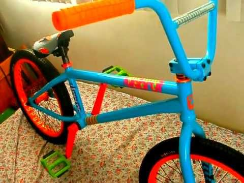 Ocean Blue Aaron Ross Sunday Funday Bmx Bike Check Youtube