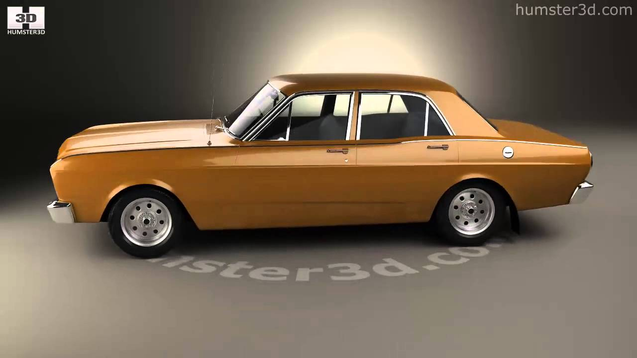 ford falcon 1968 3d model by youtube. Black Bedroom Furniture Sets. Home Design Ideas