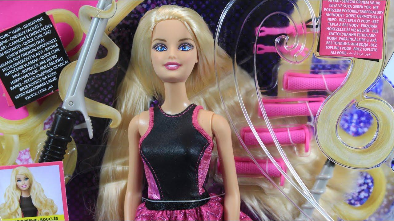 Barbie Endless Curls Doll Barbie Wspaniałe Fryzury Mattel Wwwmegadyskontpl