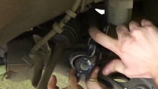 Troca da bucha da barra estabilizadora e pivô VW Polo (parte 2/3 - Reinstalação bucha)