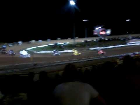 World of Outlaws Sprintcar feature at Lernerville Speedway part 2