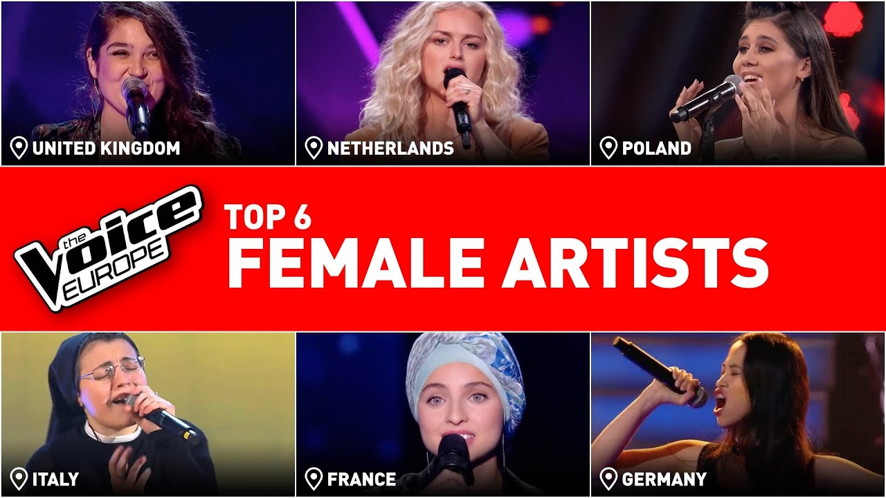 The BEST FEMALE performances in The Voice | TOP 6