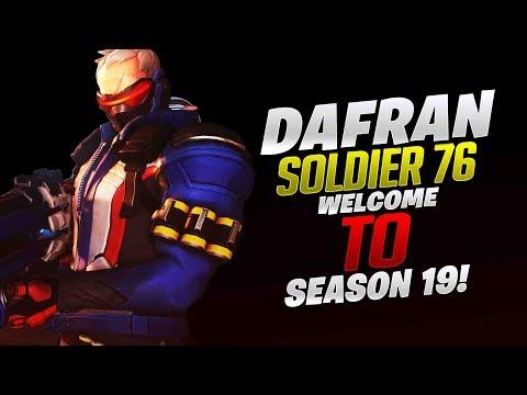 Dafran Soldier 76! Welcome To Season 19! - Overwatch