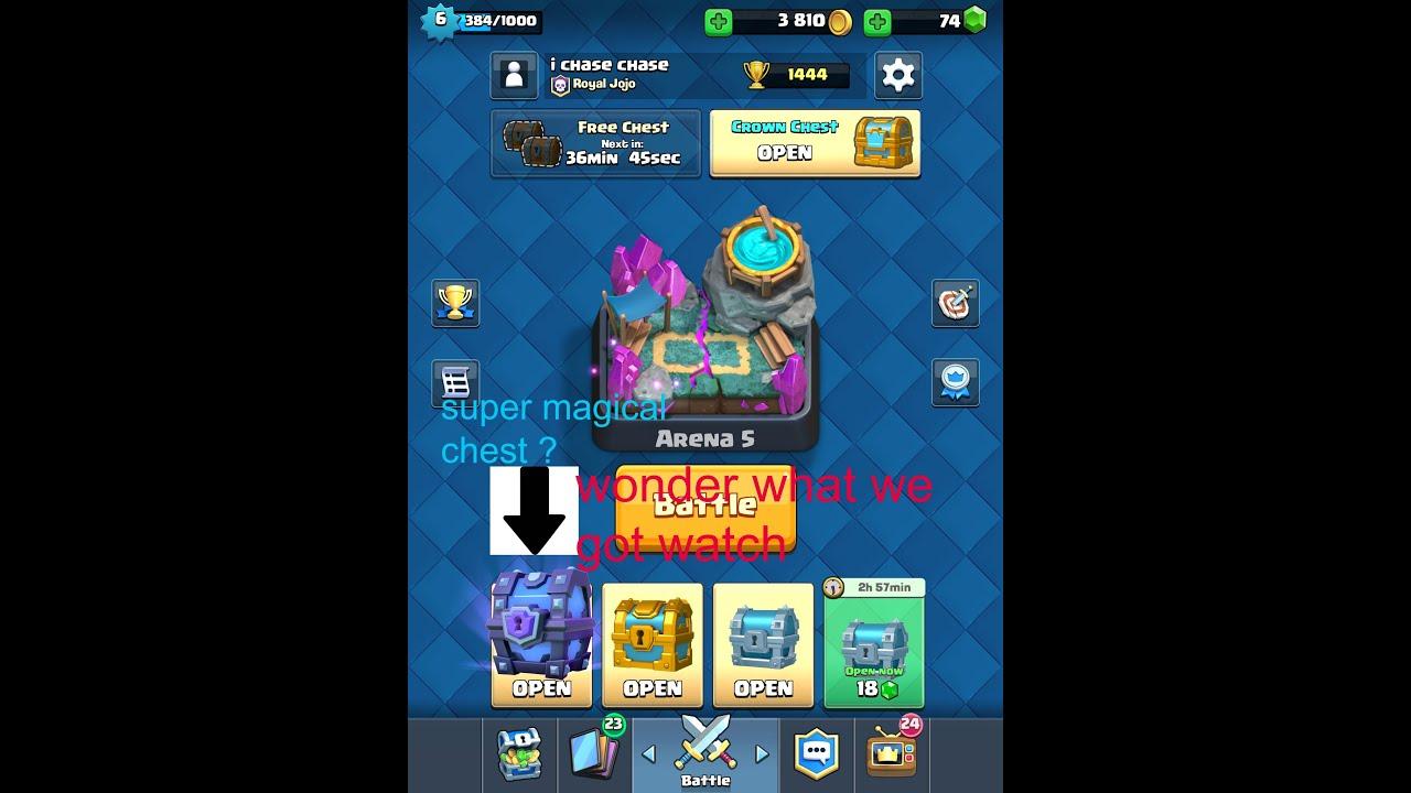 clash royale chest slots
