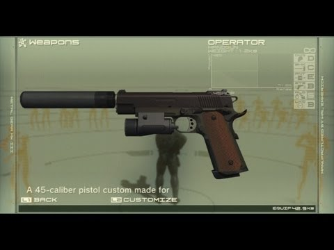 battlefield 3 metal gear solid 1911 ownage youtube