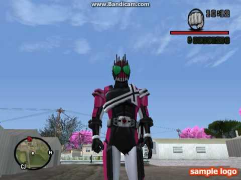 GTA San Mod Kamen Rider Decade