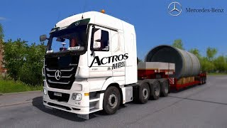 ETS2 v1 30 I Mod Mercedes Actros MP3 Reworked v2 2 Deutsch HD