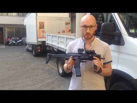 MP7a1 VFC aeg prova di tiro
