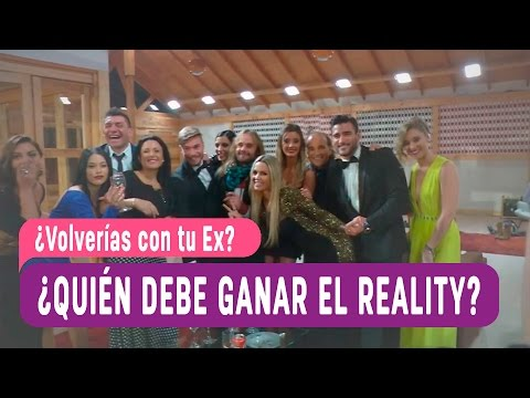 ¿Volverías con tu EX - Exclusivo / Ex participantes ¡Revelan quién debe ganar el reality!