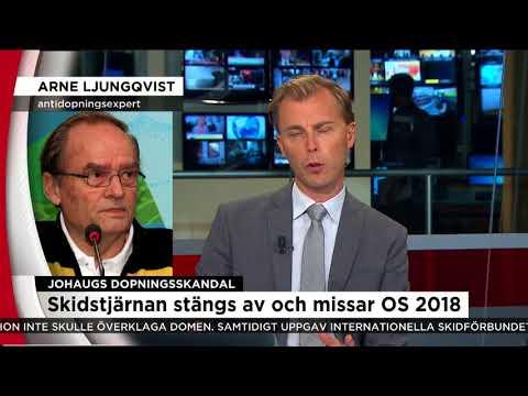 """Antidopingsexperten om Johaug-domen: """"Det var väntat!"""" - Nyheterna (TV4)"""