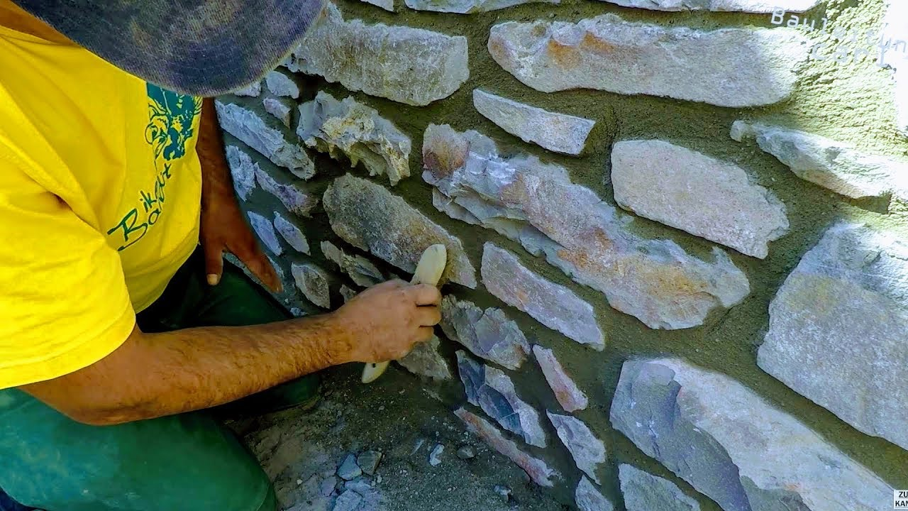 How To Build Natural Stone Wall
