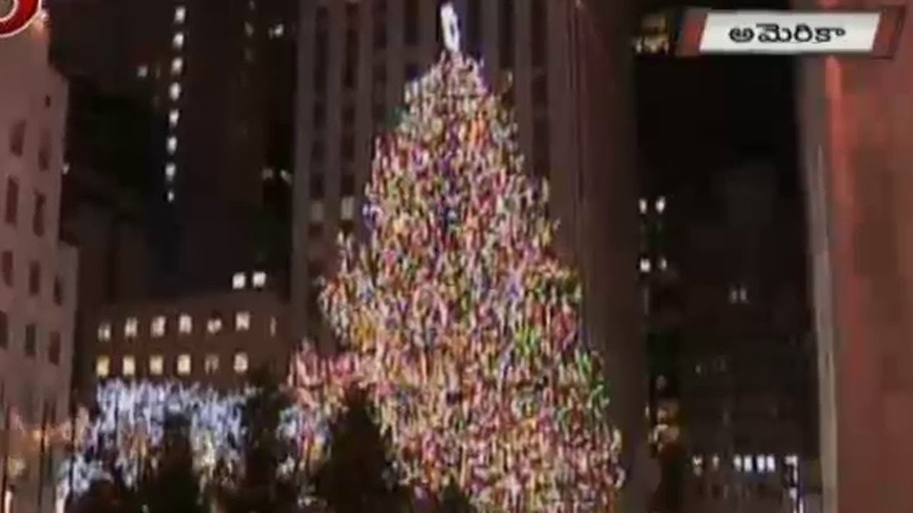 75 foot christmas tree in america