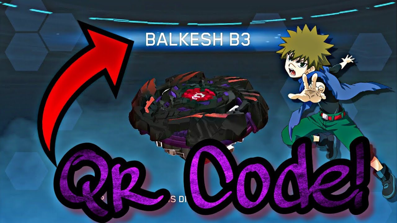 Arc Code Burst Beyblade Balkesh