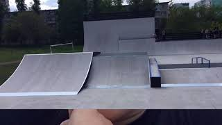 Обзор скейт парка на ДГТУ