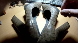 Посылка из Китая - женские туфли
