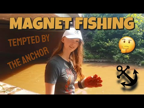 Magnet Fishing #026 Tempted by the Anchor.