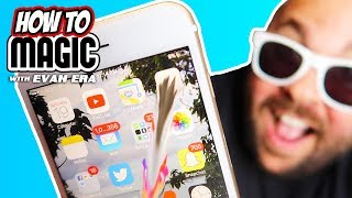 How To Do 8 iPhone Magic Tricks!