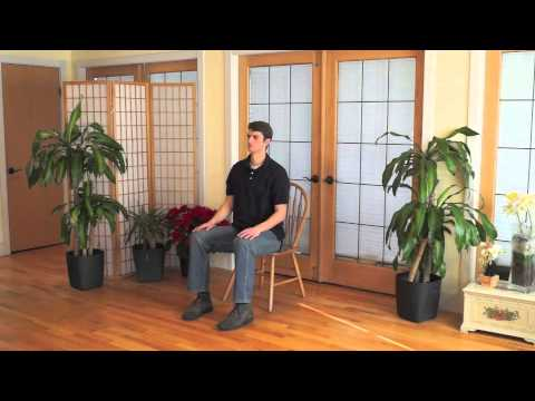Mindful Chair Yoga: A 30 Minute Beginner Practice