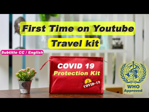 COVID19 PROTECTION KIT | Travel Kit | Corona AID KIT for AIR TRAVEL & TRAIN TRAVEL | UNBOXING | WHO
