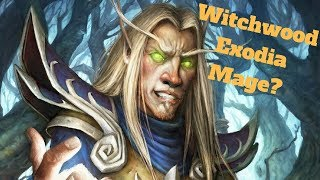 Witchwood Exodia Mage? Is it still viable? [Hearthstone Game of the Day]