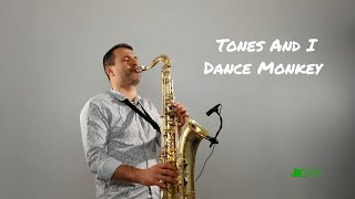 Tones And I - Dance Monkey (Slow Ballad Saxophone & Piano Cover by JK Sax)