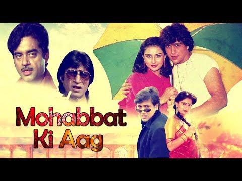 Mohabbat Ki Aag 1997 Full Movie   Shatrughan Sinha & Govinda   Poonam Dhillon & Shakti Kapoor