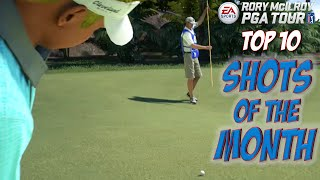 Rory McIlroy PGA Tour - TOP 10 SHOTS OF THE MONTH
