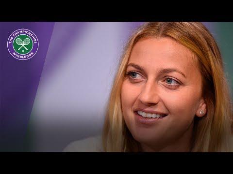 Petra Kvitova Wimbledon 2017 pre-tournament press conference