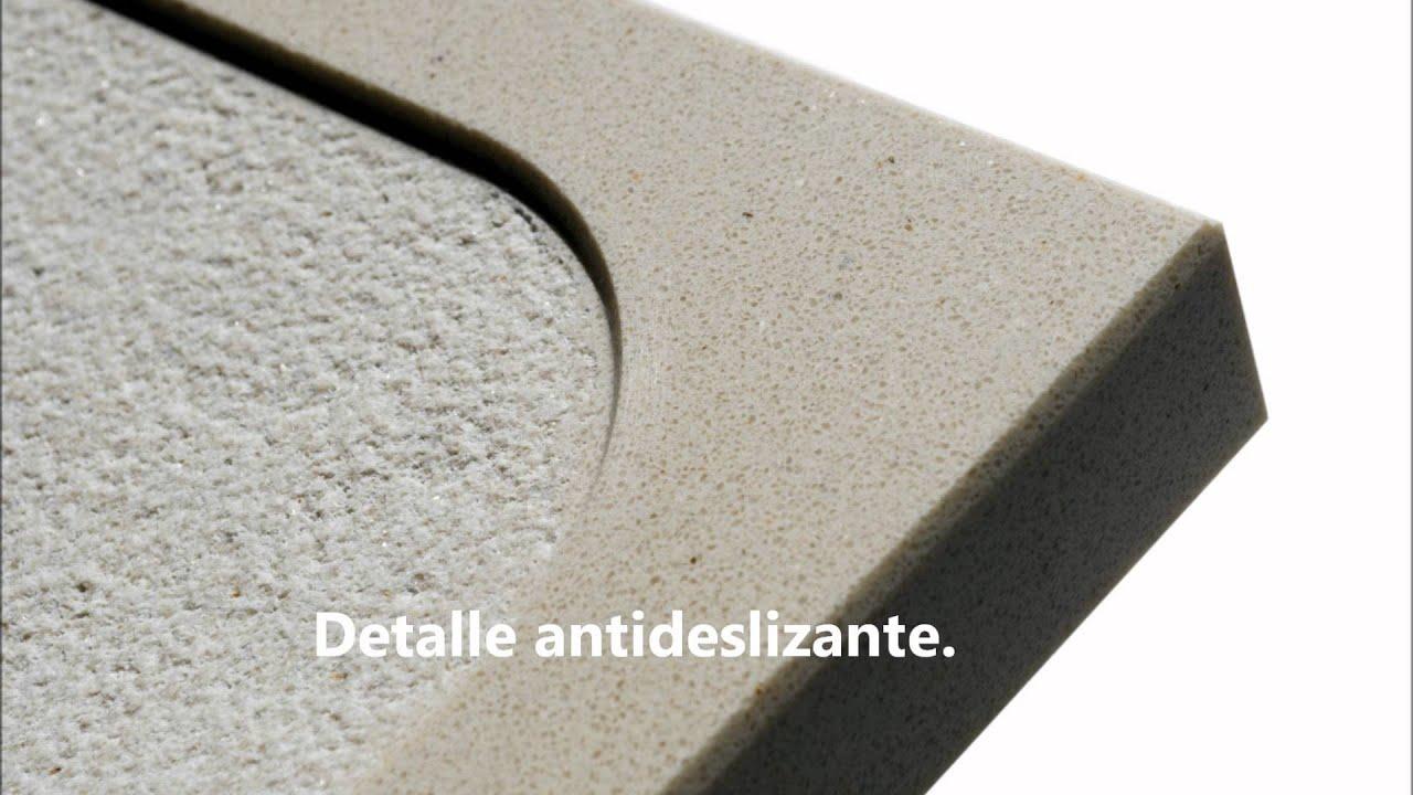 Platos de ducha antideslizantes youtube for Ducha antideslizante