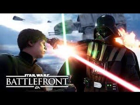 Star Wars: Battlefront Beta - X-wing and Interceptor Gameplay