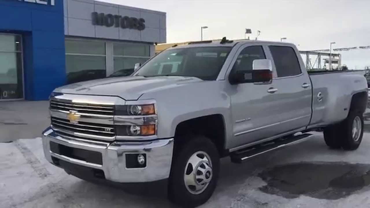 All Chevy 2015 chevy 3500hd dually : Silver 2015 Chevrolet Silverado LTZ 3500 Crew Cab at Scougall ...