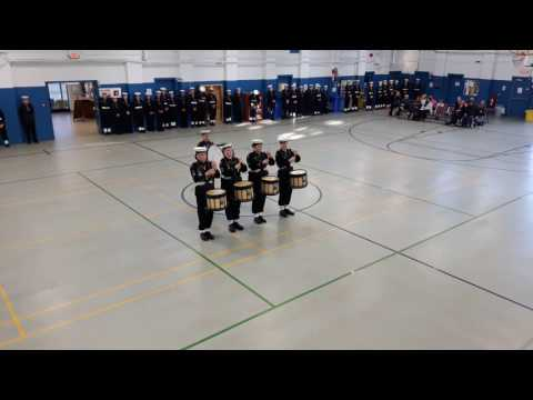 2016 Royal Canadian Sea Cadet Corps #42 Vindictive Annual Inspection Drumline